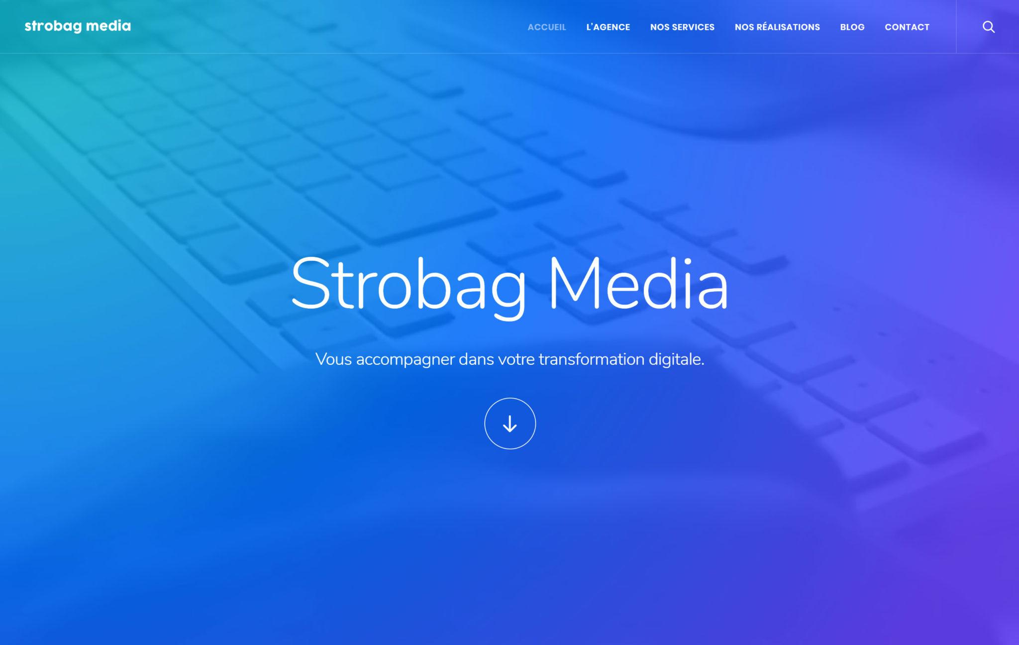 Agence web à Rennes : Strobag Media